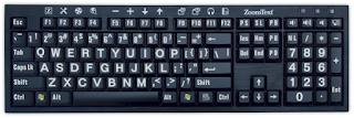 keyboard has a wrong layout