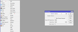 web proxy server on Mikrotik