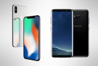 Galaxy S8 over the iPhone X