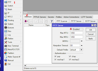 Site to Site PPTP VPN on Mikrotik routers