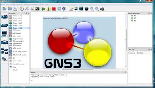 gns3 setup